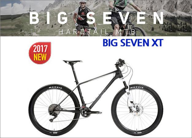 NEW! 2017 메리다 빅세븐XT 블랙화이트 MERIDA 산악자전거