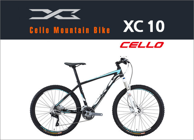 [전화할인EVENT] 2017 첼로 XC10 26인치 NEW! 헬멧증정