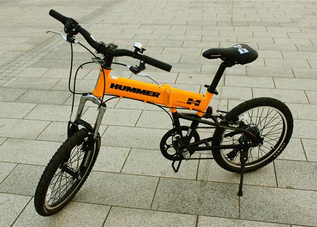 [타고타고] 허머 미니벨로 FDB207 (hummer) 높은 내구성으로 만들어진 20인치 폴딩자전거! * 엘로우 / 레드 2color