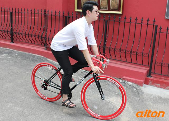 [타고타고] 2015 알톤 스피너21 드롭바 알톤사 BEST OF BES 상품 * 21단 썸쉬프트레버 드롭바 자전거