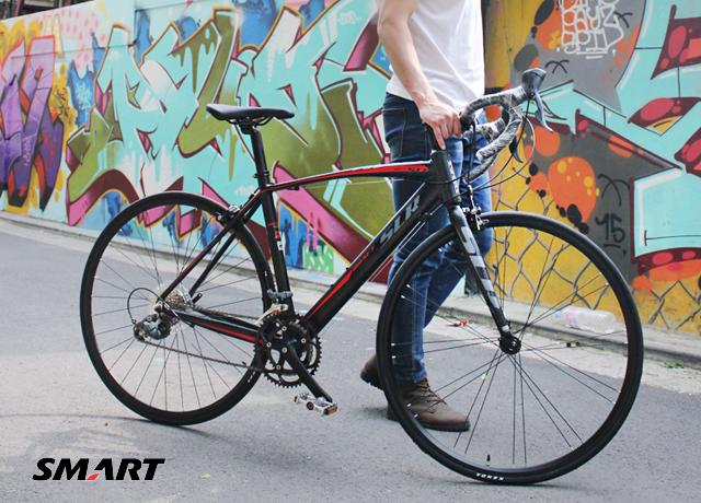 [타고타고] 700c 드래프트 SLR 16 (DRAFT SLR16) 알루미늄 경기용 프레임 클라리스급 로드자전거 * 2color